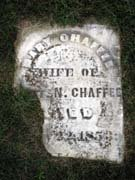 Baptist Cemetery C-D - Plymouth Historical Museum - chaffee_mary_tomb