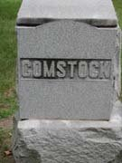 Baptist Cemetery C-D - Plymouth Historical Museum - comstock_tomb
