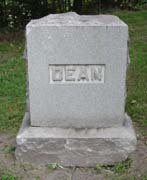 Baptist Cemetery C-D - Plymouth Historical Museum - dean_tomb