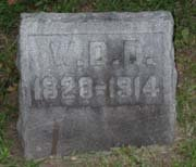Baptist Cemetery C-D - Plymouth Historical Museum - dean_w_d_tomb