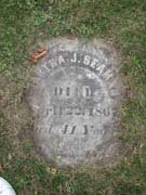 Baptist Cemetery R-S-T - Plymouth Historical Museum - seaman_martha_tomb