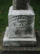 Baptist Cemetery R-S-T - Plymouth Historical Museum - seeley_maria_tomb