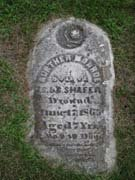 Baptist Cemetery R-S-T - Plymouth Historical Museum - shafer_aurthur_tomb