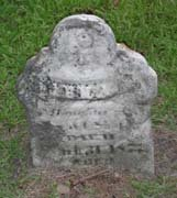 Baptist Cemetery R-S-T - Plymouth Historical Museum - shafer_irena_tomb