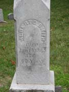 Baptist Cemetery R-S-T - Plymouth Historical Museum - smith_albert_tomb