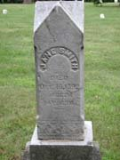 Baptist Cemetery R-S-T - Plymouth Historical Museum - smith_jane_tomb
