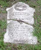 Baptist Cemetery R-S-T - Plymouth Historical Museum - tessman_sophia_tomb