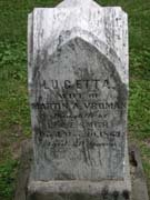 Baptist Cemetery V-W-Y - Plymouth Historical Museum - vroman_lucetta_tomb