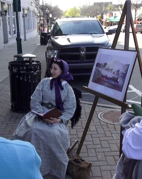PLHT Members - Plymouth Historical Museum - stephanie_miner_as_sarah_shattuck